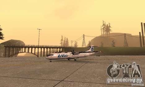 ATR 72-500 UTair для GTA San Andreas