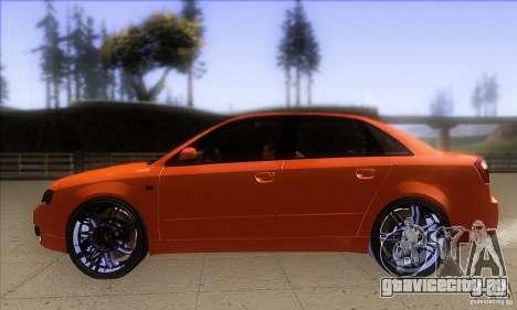 Audi S4 DIM для GTA San Andreas вид слева