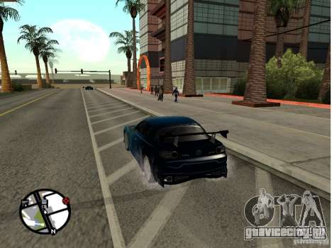 Mazda RX8 для GTA San Andreas вид сбоку