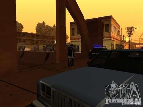 Pack Ballas Soldiaz Families V.2 для GTA San Andreas пятый скриншот
