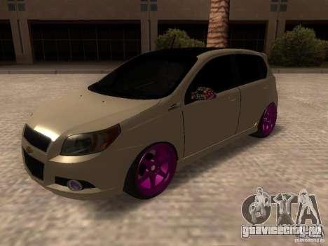 Chevrolet Aveo Tuning для GTA San Andreas