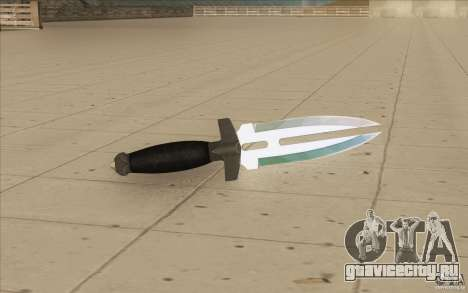 Low Chrome Weapon Pack для GTA San Andreas восьмой скриншот