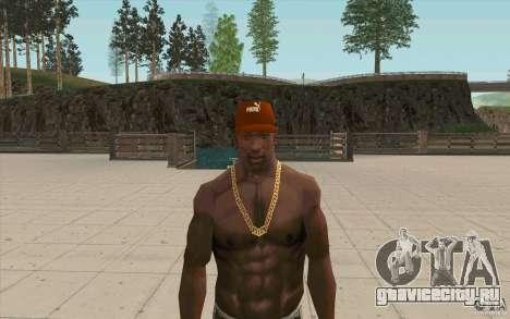 Кепка Puma для GTA San Andreas третий скриншот
