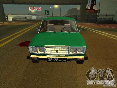 ВАЗ 2106 Пол-седьмого для GTA San Andreas вид слева