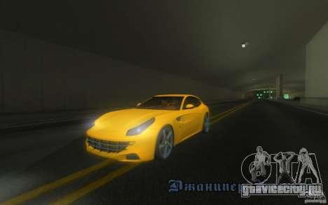 Ferrari FF для GTA San Andreas вид сбоку