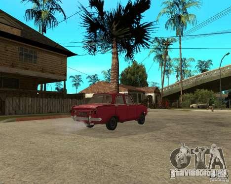 Москвич 412 для GTA San Andreas вид сзади слева