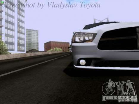 Dodge Charger 2013 для GTA San Andreas вид сбоку