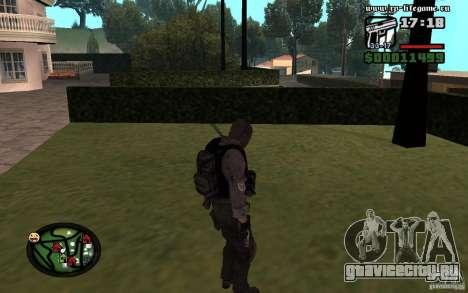 Новые женские и мужские скины для армии. для GTA San Andreas второй скриншот