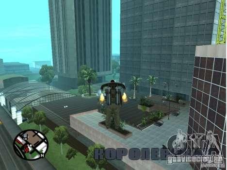 Doherty Plaza - Новая дороти для GTA San Andreas четвёртый скриншот