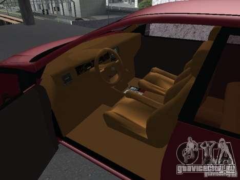 Toyota Corolla Sedan для GTA San Andreas вид справа