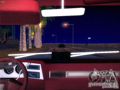 Chevrolet 350 1986 для GTA San Andreas вид сзади слева