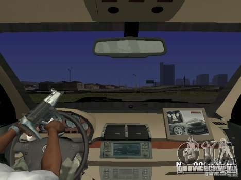 Toyota Avanza Street Edition для GTA San Andreas вид изнутри