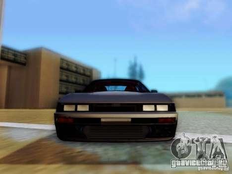 Nissan S13 - Touge для GTA San Andreas вид сзади
