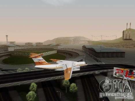 ИЛ-76ТД для GTA San Andreas вид слева