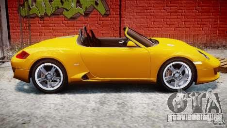 Ruf RK Spyder v0.8Beta для GTA 4 вид сбоку