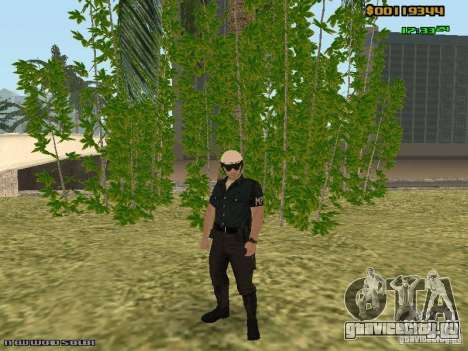 SAPD skins для GTA San Andreas пятый скриншот