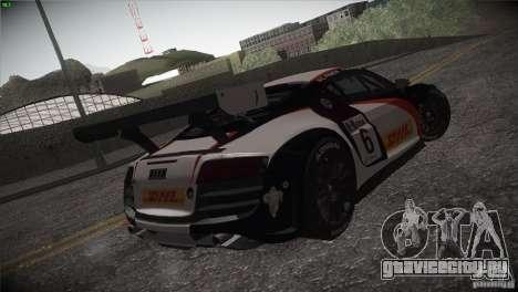 Audi R8 LMS для GTA San Andreas вид сбоку