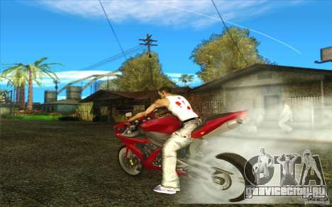 Yamaha YZF R1 Tuning Version для GTA San Andreas вид сбоку