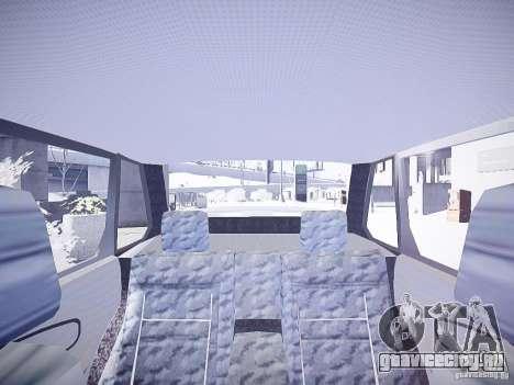 ВАЗ 2115 ДПС для GTA 4 вид изнутри