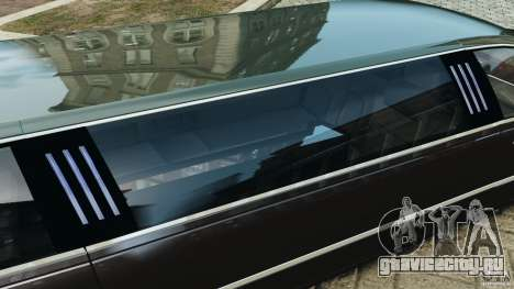 Lincoln Town Car Limousine 2006 для GTA 4 салон