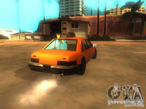 Crazy Taxi для GTA San Andreas вид сзади слева