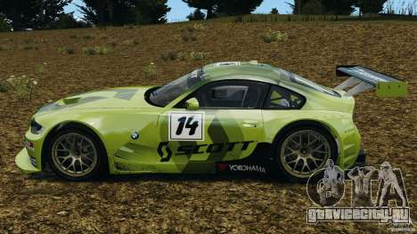 BMW Z4 M Coupe Motorsport для GTA 4 вид слева