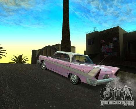 Plymouth Belvedere для GTA San Andreas вид слева