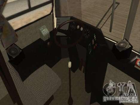 Икарус 250 для GTA San Andreas вид сзади