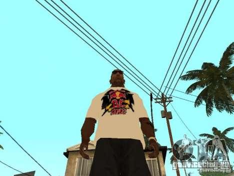 Майка Red Bull для GTA San Andreas третий скриншот