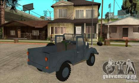 ARO Simple для GTA San Andreas вид справа