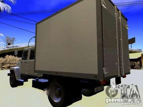ГАЗ 3309 Егерь для GTA San Andreas вид сзади слева