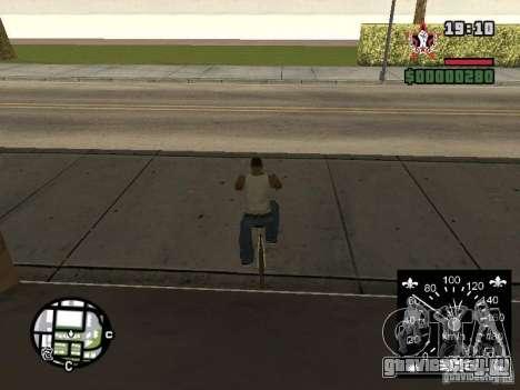 Новый спидометр для GTA San Andreas шестой скриншот