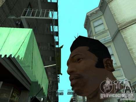 НОВОЕ ЛИЦО CJ для GTA San Andreas четвёртый скриншот