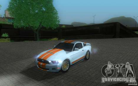 Ford Mustang GT V6 2011 для GTA San Andreas