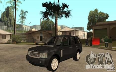 Range Rover Supercharged 2008 для GTA San Andreas