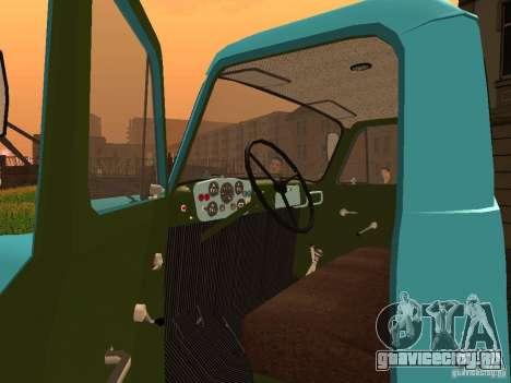 ГАЗ 53 Молоковоз для GTA San Andreas вид сзади