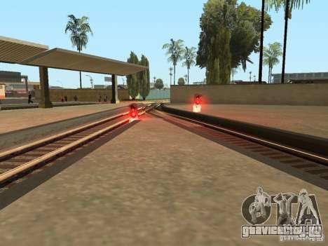 Железнодорожные светофоры для GTA San Andreas шестой скриншот