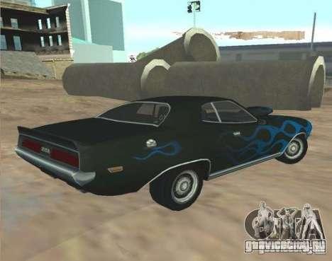Bullet GT from FlatOut 2 для GTA San Andreas вид слева
