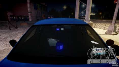 Ford Crown Victoria Detective v4.7 [ELS] для GTA 4 вид сверху