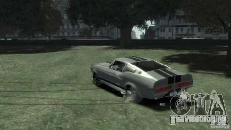Ford Shelby GT500 Eleanor для GTA 4 вид слева