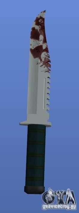 Bloody Knife V1.1 для GTA 4 третий скриншот