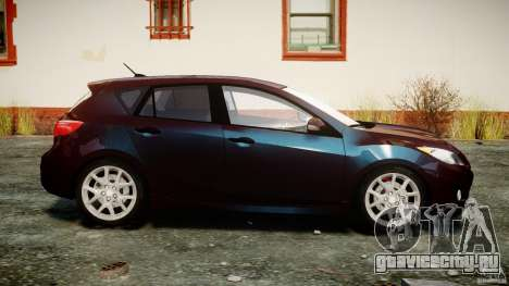 Mazda Speed 3 [Beta] для GTA 4 вид изнутри