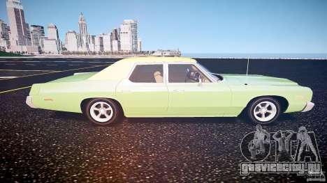 Dodge Monaco 1974 для GTA 4 вид слева