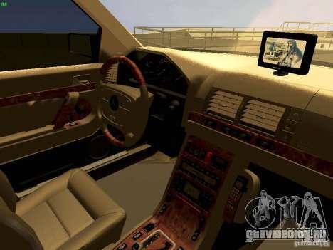 Mercedes-Benz S600 V12 для GTA San Andreas вид сбоку