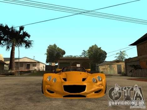 Gillet Vertigo для GTA San Andreas вид справа