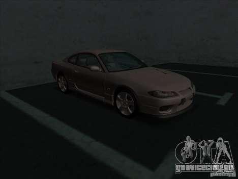 Nissan Silvia S15 Tunable KIT C1 - TOP SECRET для GTA San Andreas вид слева
