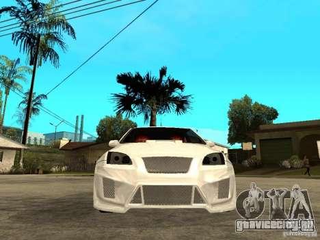 Ford Focus Tuned для GTA San Andreas вид справа
