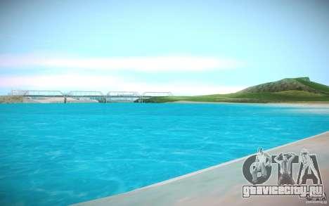 HD-вода для GTA San Andreas третий скриншот