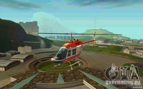 Bell 206 B Police texture2 для GTA San Andreas