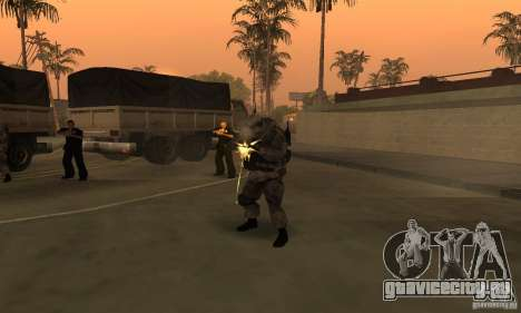 Солдат из CoD MW для GTA San Andreas